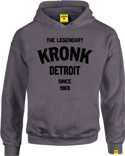 Kronk Legendary Detroit Hoody - Charcoal